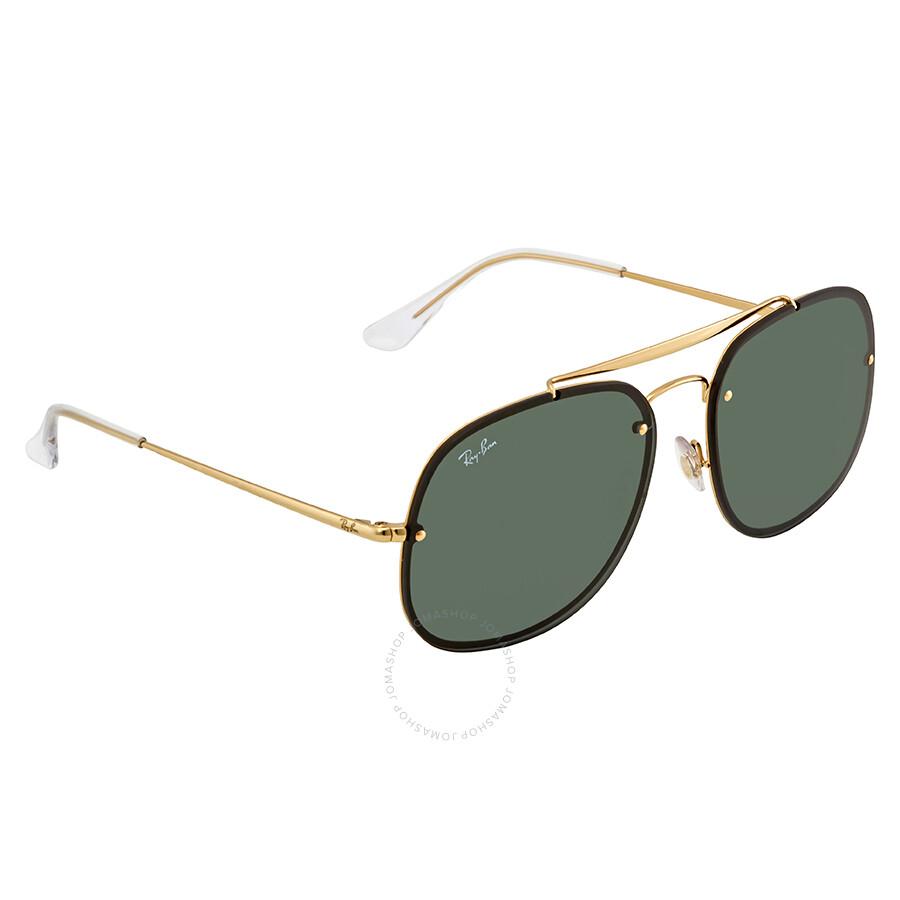 f7d6903309 Ray Ban Blaze General Green Classic Sunglasses RB3583N 905071 58 ...