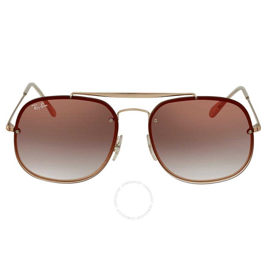 9b54d7abcf ... Ray Ban Blaze General Red Gradient Mirror Square Sunglasses RB3583N  9035V0 58 ...