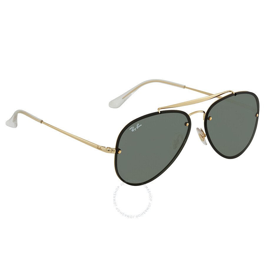 fcd0bc3d31d Ray Ban Blaze Green Classic Aviator Sunglasses RB3584N 905071 58 ...