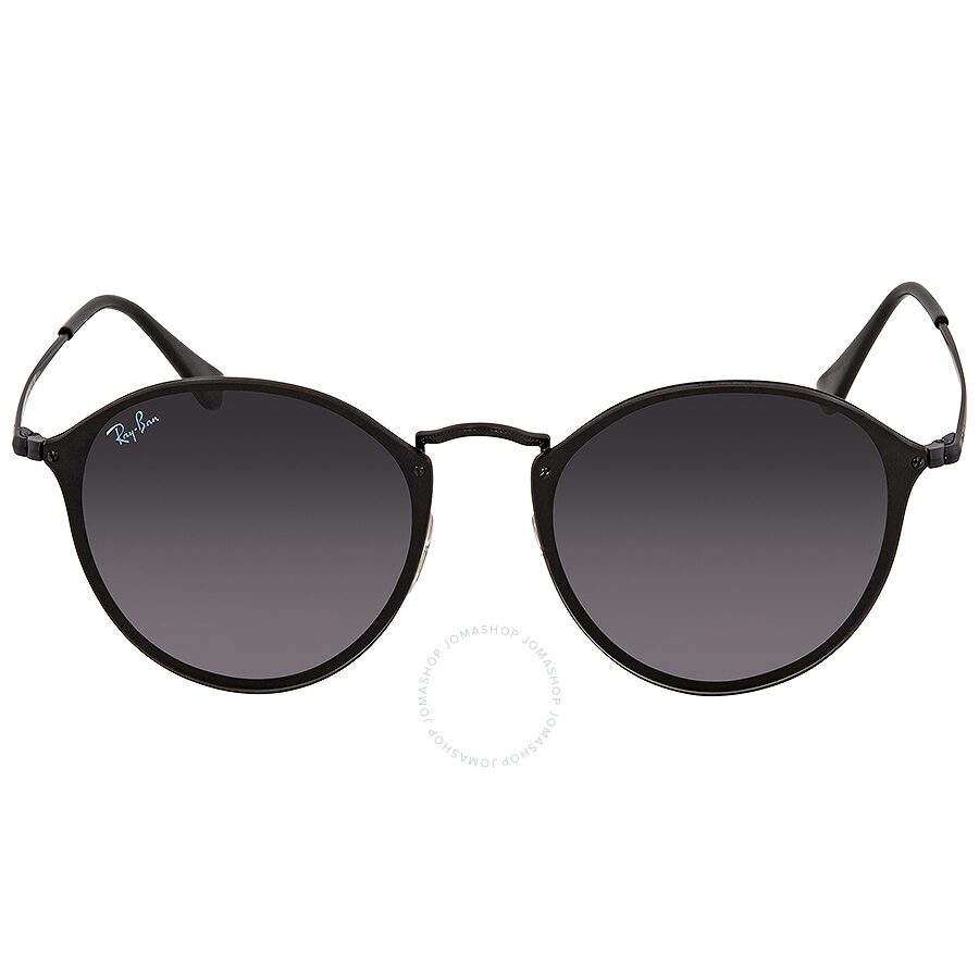 8985ad5eec9 ... Ray Ban Blaze Grey Gradient Dark Grey Round Sunglasses RB3574N 153 11  59 ...