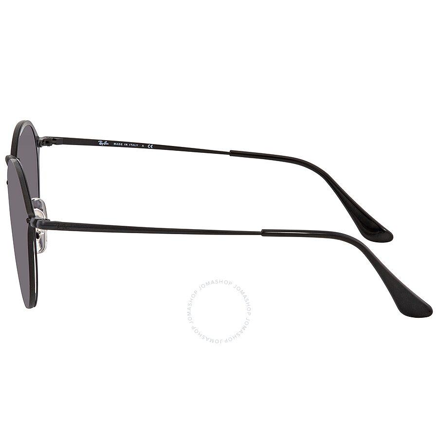 3c8af275ee ... Ray Ban Blaze Grey Gradient Dark Grey Round Sunglasses RB3574N 153 11 59