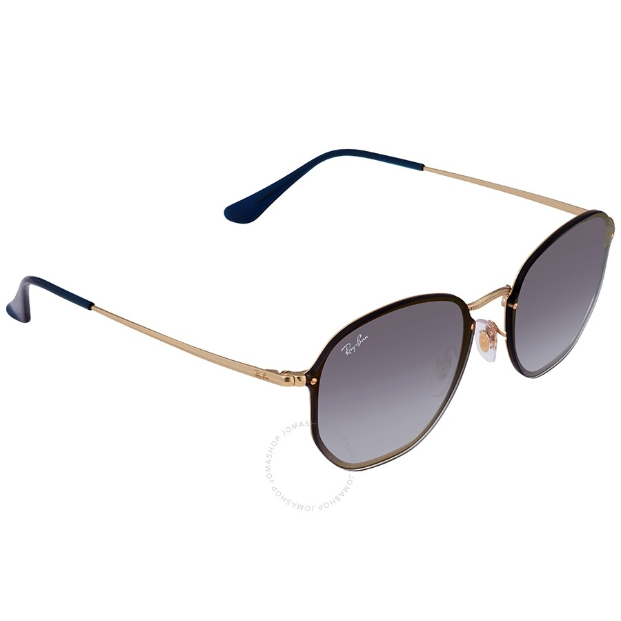 396c288d9 Ray Ban Blaze Hexagonal Blue Gradient Mirror Aviator Unisex Sunglasses  RB3579N 91400S58 ...