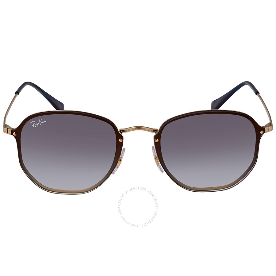 d8b0e6284 ... Ray Ban Blaze Hexagonal Blue Gradient Mirror Aviator Unisex Sunglasses  RB3579N 91400S58 ...