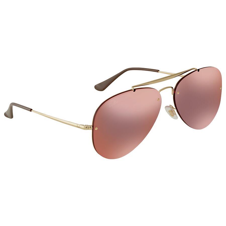 Ray Ban Blaze Aviator Sunglasses RB3584N 9052E4 61 - Aviator - Ray ... e5fe1fcdbee2