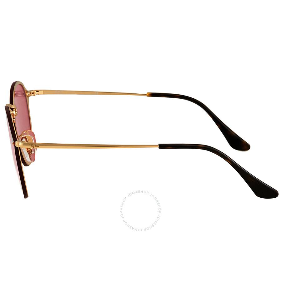 c5cd5b74bc ... Ray Ban Blaze Pink Mirror Round Sunglasses RB3574N 001 E4 59