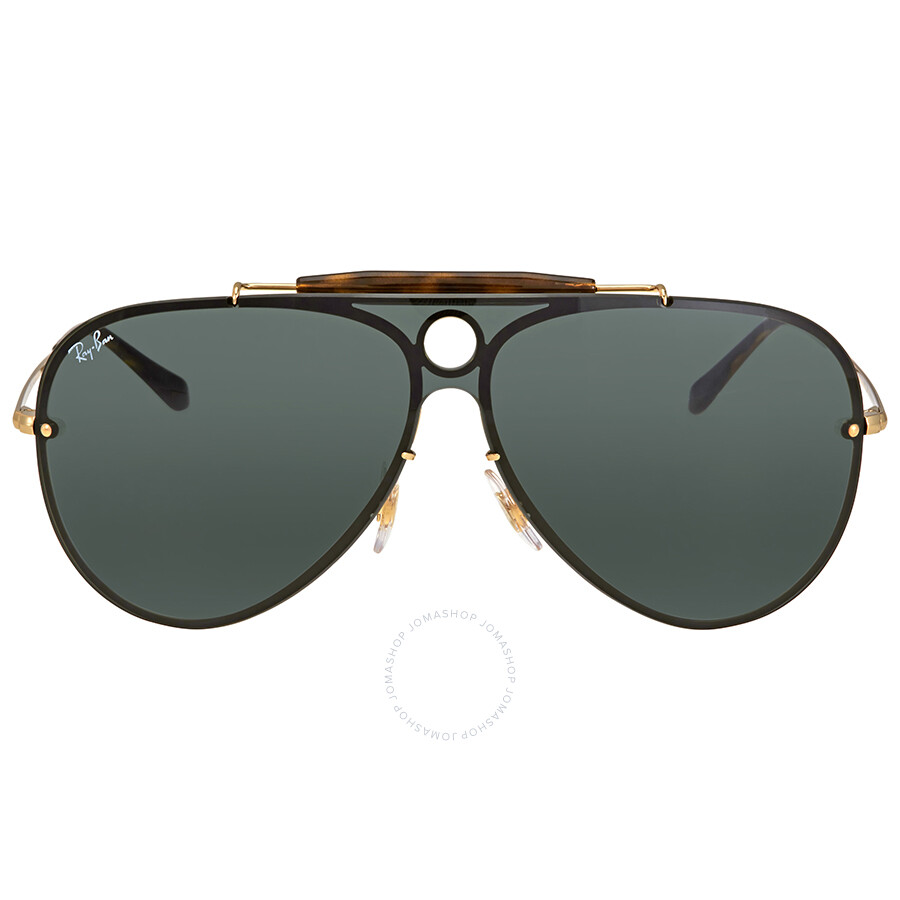 ihocon: Ray Ban Blaze Shooter Green Classic Sunglasses RB3581N 太陽眼鏡