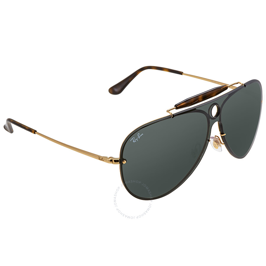 d70a8d3546 ... Ray Ban Blaze Shooter Green Classic Sunglasses RB3581N 001 71 32 ...