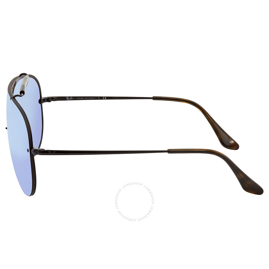 2ebe7971fd ... Ray Ban Blaze Shooter Violet Blue Mirror Aviator Sunglasses RB3581N  153 7V 32