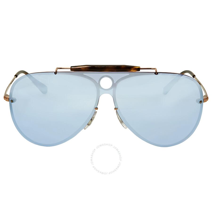 0769de662 Ray Ban Blaze Shooter Violet Mirror Sunglasses RB3581N 90351U 32 Item No.  RB3581N 90351U 32