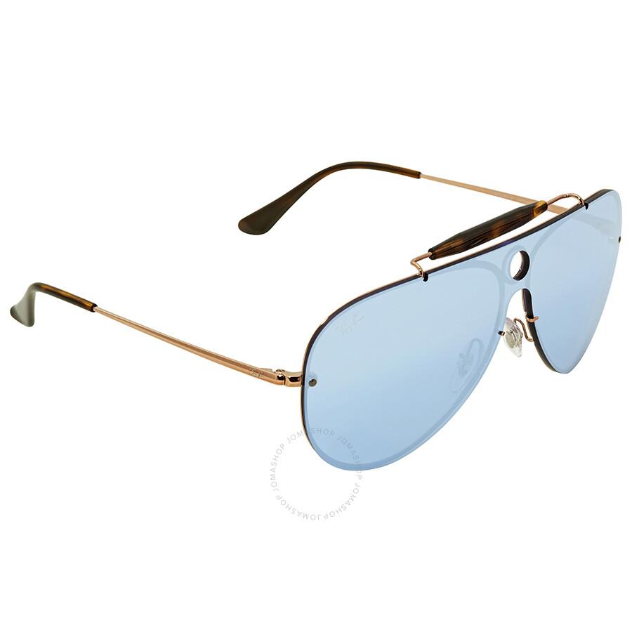 973e192d45 ... Ray Ban Blaze Shooter Violet Mirror Sunglasses RB3581N 90351U 32 ...