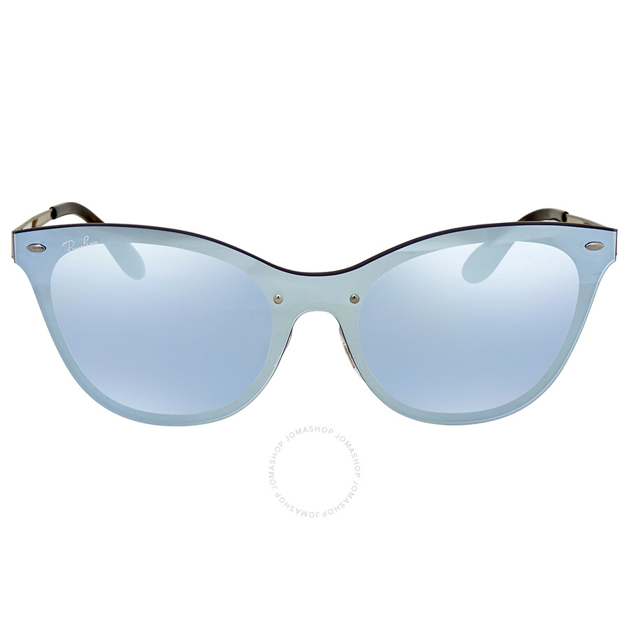 bb3450a2bb ... Ray Ban Blaze Violet Mirror Cat Eye Ladies Sunglasses RB3580N 90391U 01- 43 ...