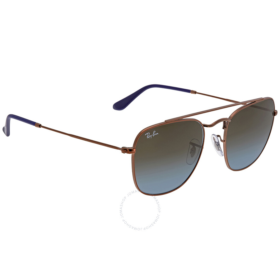 08d8d23b01 Ray Ban Blue Brown Gradient Men s Sunglasses RB3557 900396 54 - Ray ...