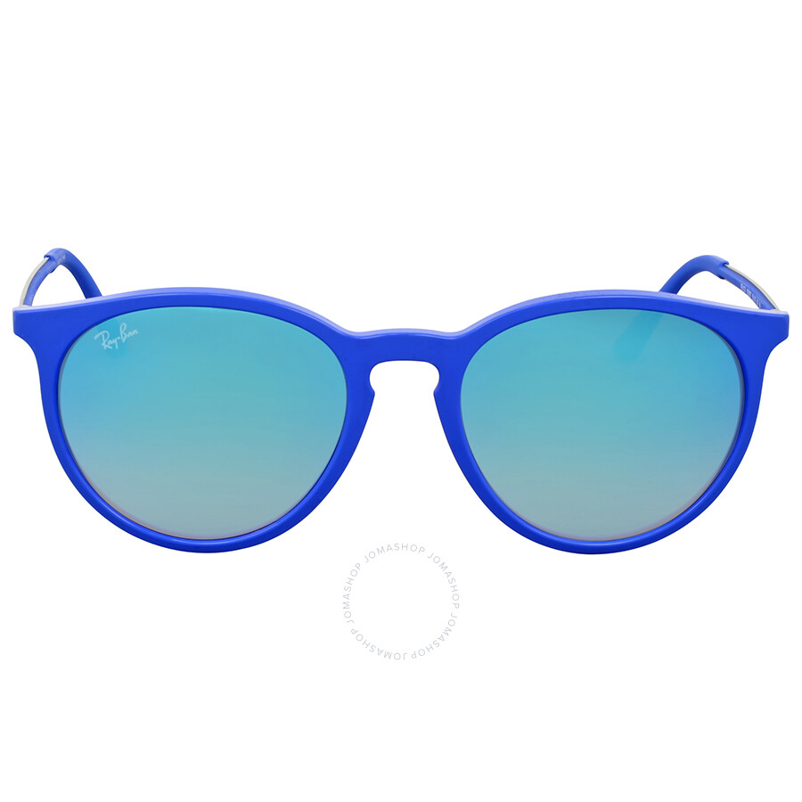 3c3968a26f Ray Ban Blue Gradient Flash Round Sunglasses - Ray-Ban - Sunglasses ...