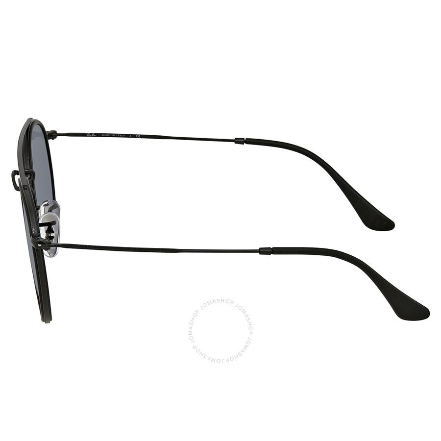 f51eba81b7b Ray Ban Blue Gray Classic Round Sunglasses RB3647N 002 R5 51 - Round ...