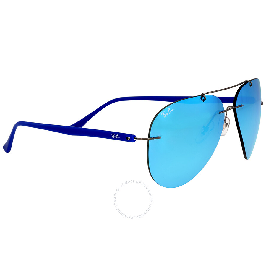 357a38c52c7 Aviator Sunglasses With Blue Mirror Lenses - Bitterroot Public Library