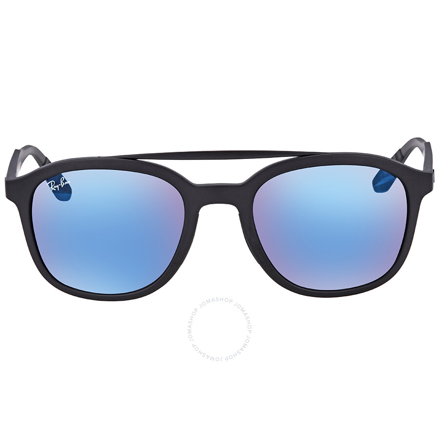 3746eb78d2d Ray Ban Blue Mirror Square Men s Sunglasses RB4290 601S55 53 - Ray ...