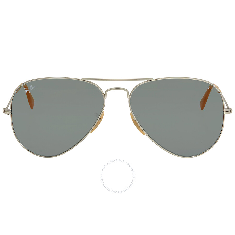 9f33b75277 Ray Ban Blue Photocromic Aviator Sunglasses RB3025 9065I5 58 ...