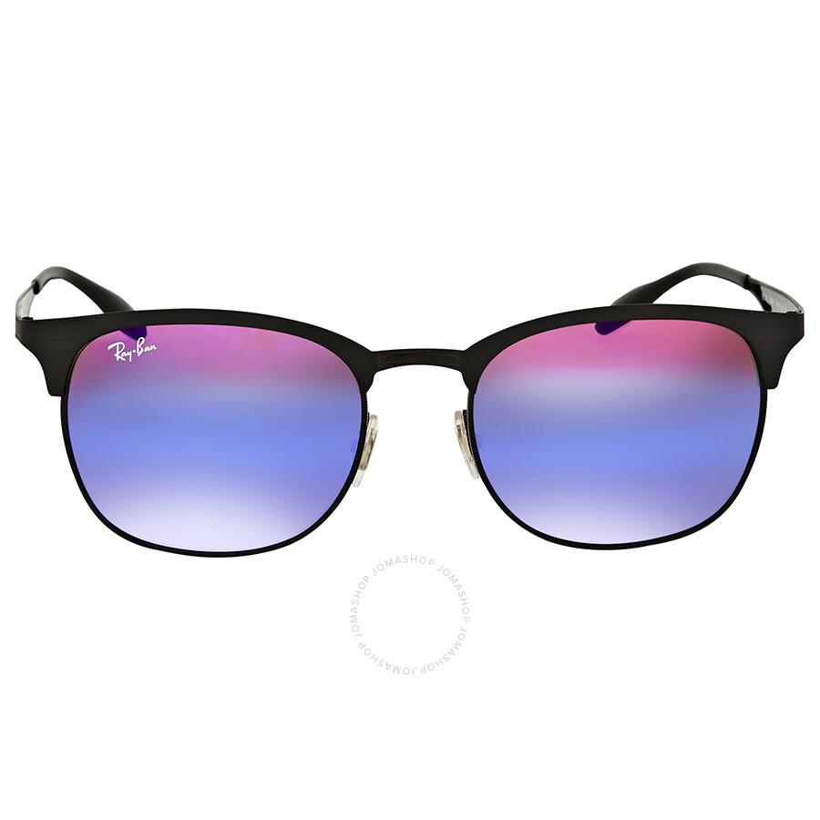 27394f9df2 Ray Ban Blue Violet Gradient Mirror Metal Sunglasses Item No. RB3538 186 B1  53