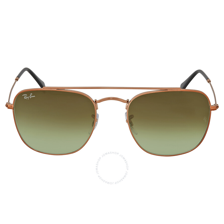2e3b4cf05 Ray Ban Bronze-Copper Square Sunglasses Item No. RB3557 9002A6 54