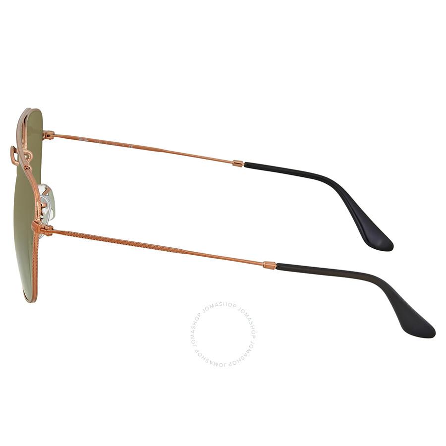 c106cd7a26 Ray Ban Bronze-Copper Square Sunglasses - Aviator - Ray-Ban ...
