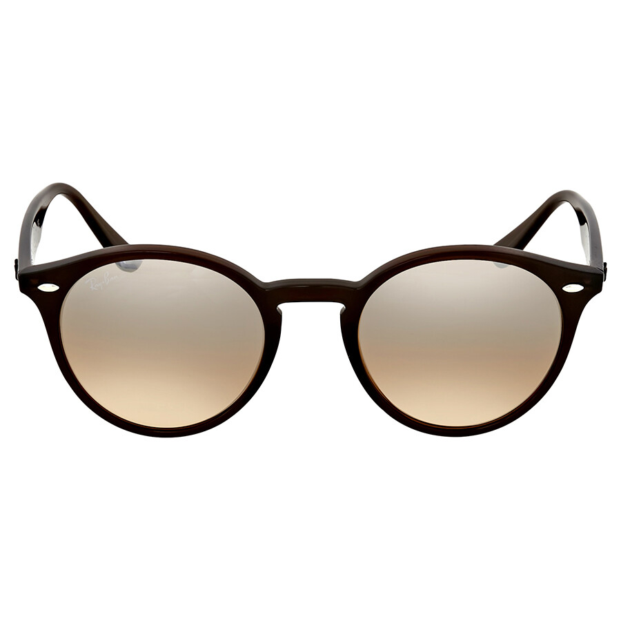 084be247b693 Ray Ban Brown Acetate Sunglasses - Round - Ray-Ban - Sunglasses ...