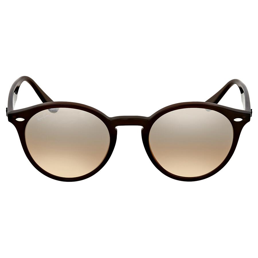 9c7bdef558642 Ray Ban Brown Acetate Sunglasses - Round - Ray-Ban - Sunglasses ...