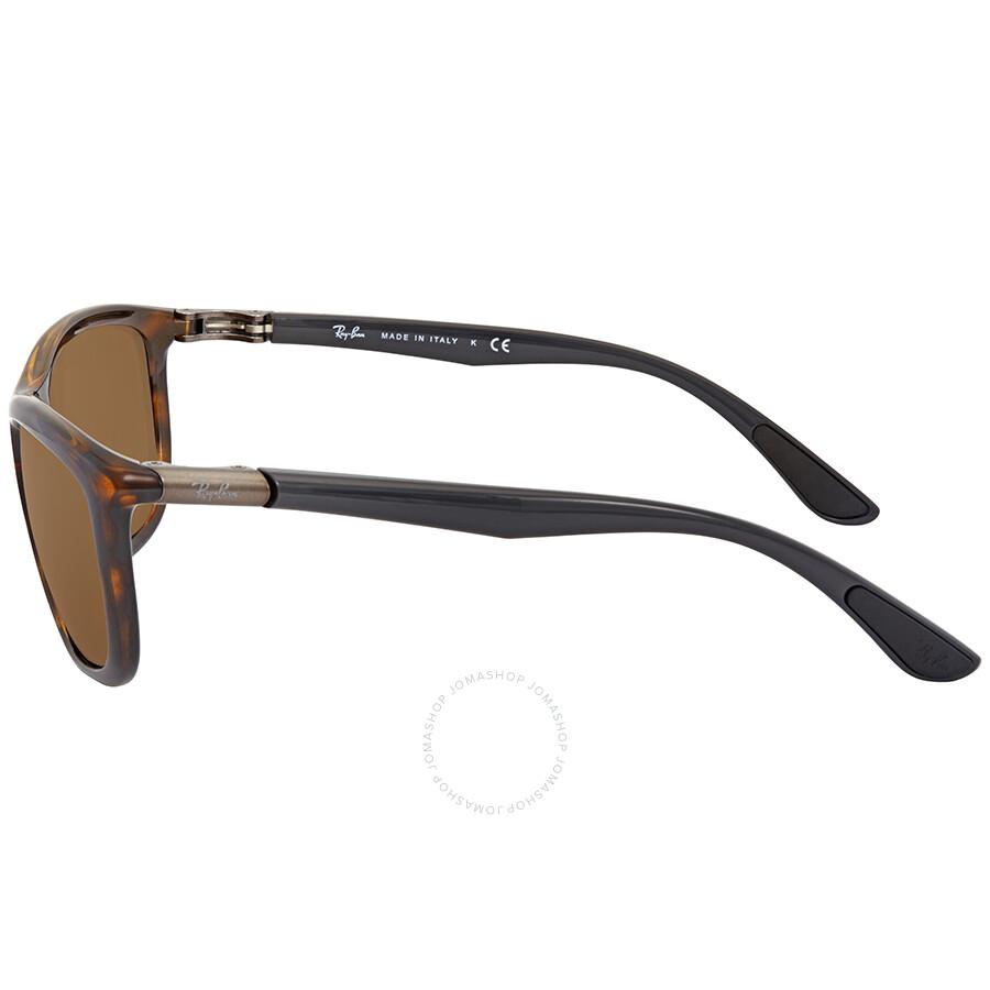 00bf28f0bb Ray Ban Brown Classic B-15 Rectangular Sunglasses RB8351 622173 60 ...