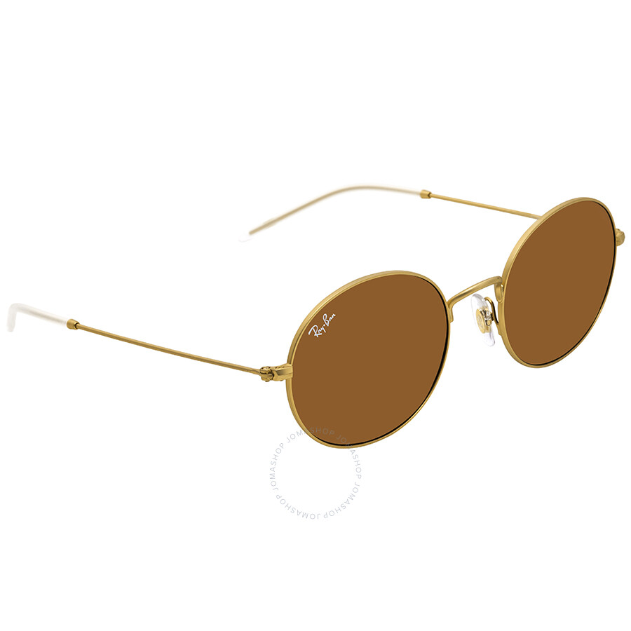 07ed62fbb1 Ray Ban Brown Classic B-15 Round Sunglasses RB3594 901373 53 - Round ...