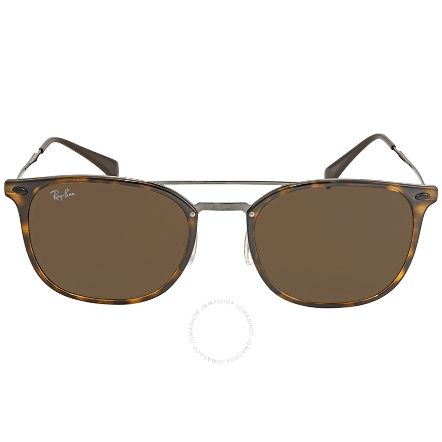 bd75747604 ... Ray Ban Brown Classic B-15 Square Men s Sunglasses RB4286 710 73 55 ...