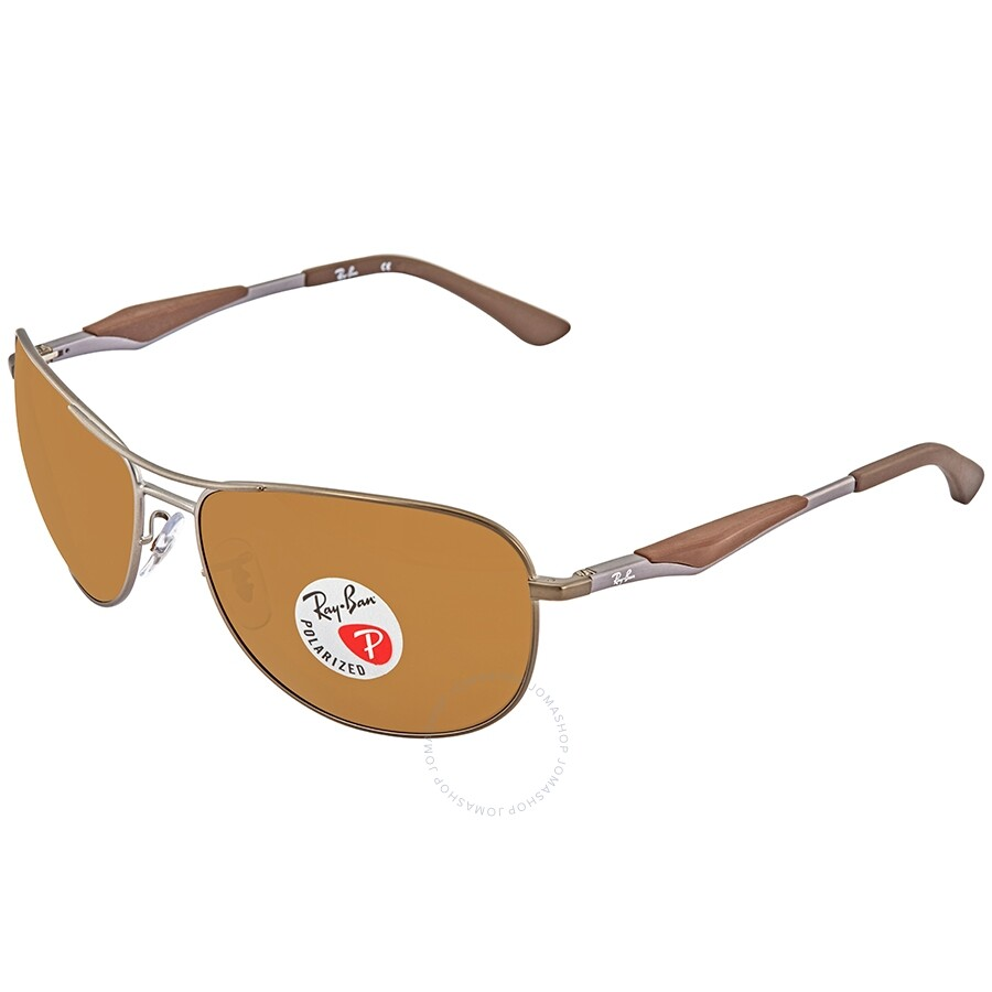 34d4c809ab154 Ray Ban Brown Classic B-15 Sunglasses RB3519 029 83 62 - Ray-Ban ...