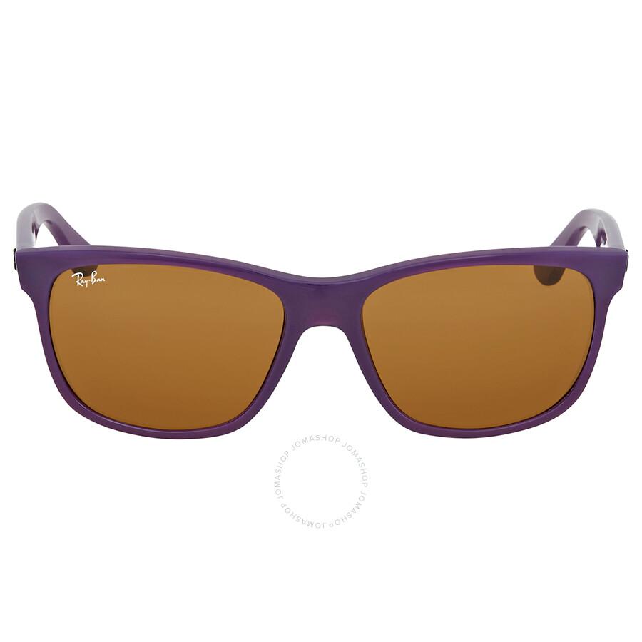 2206fb26f1 Ray Ban Brown Classic B-15 Sunglasses RB4181 6034 57 - Ray-Ban ...
