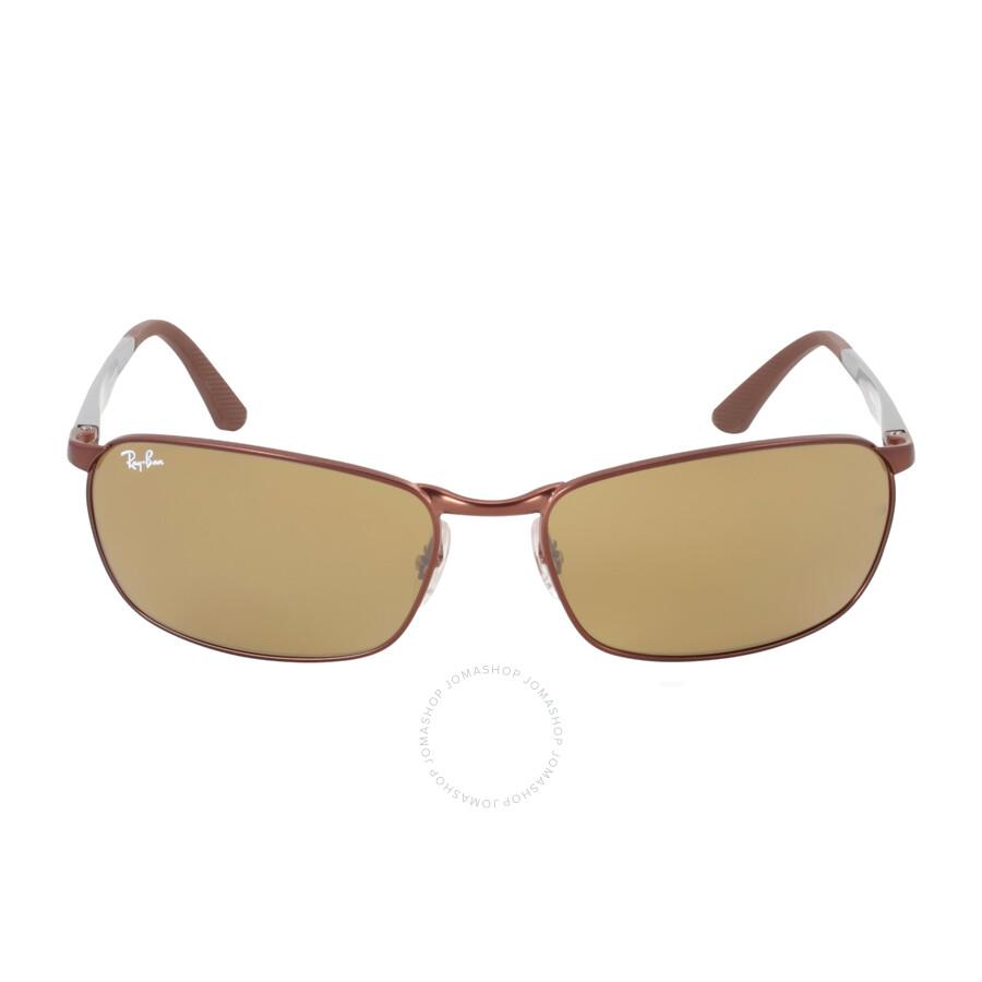 2b49ad769e Ray Ban Brown Classic B-15 Men s Sunglasses RB3534 012 62-17 - Ray ...