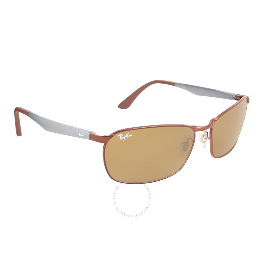 8d63568969969 Ray Ban Brown Classic B-15 Men s Sunglasses RB3534 012 62-17 - Ray ...
