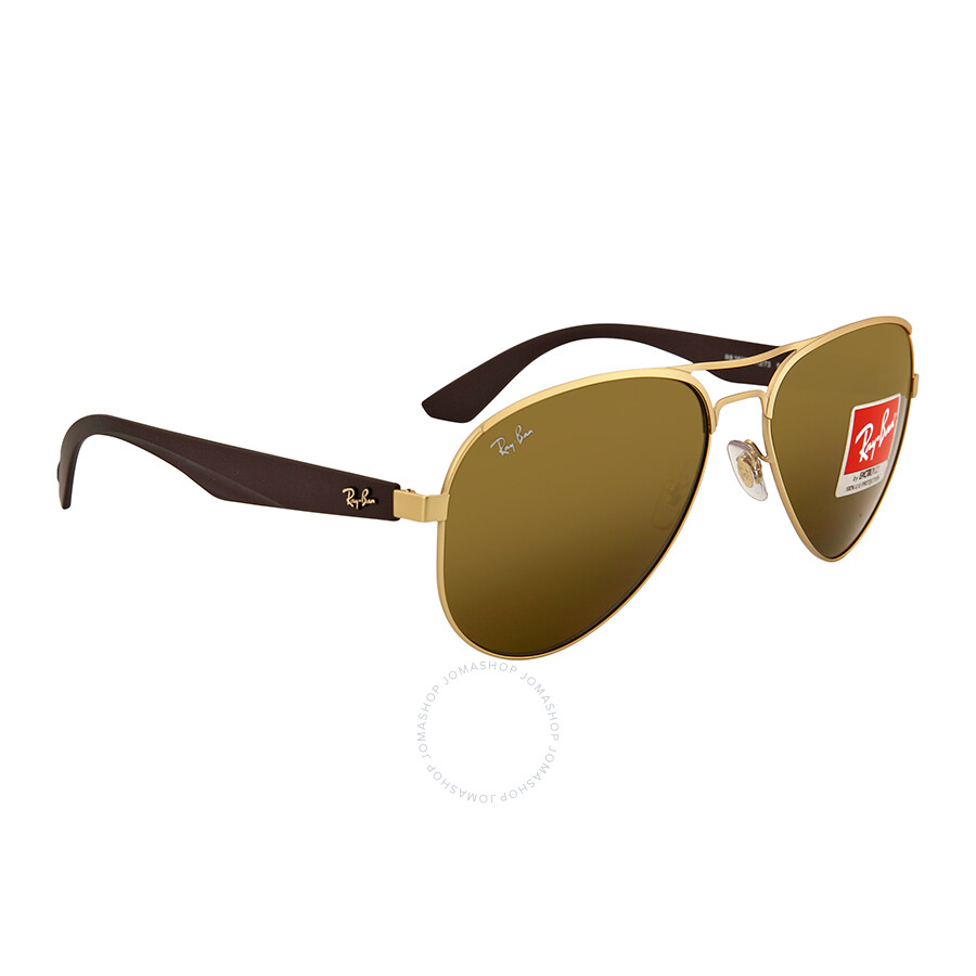 27dcc038ef Ray Ban Brown Classic Sunglasses RB3523-59-112-73 - Ray-Ban ...