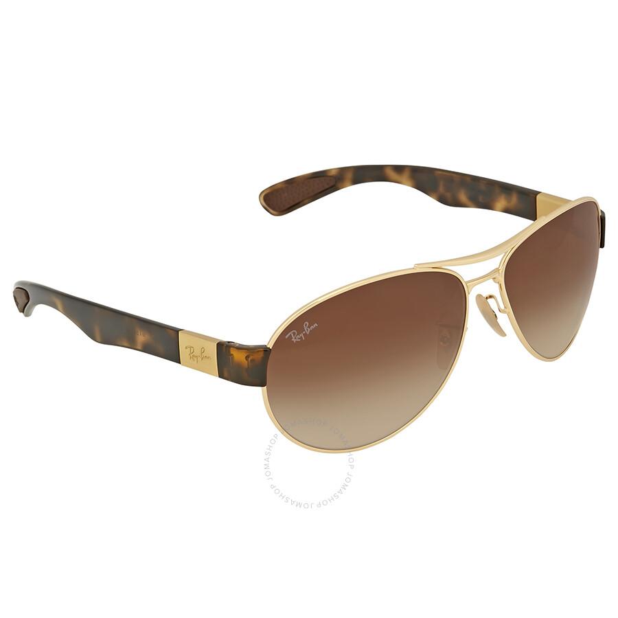e3e02f39723 Ray Ban Brown Gradient Aviator Sunglasses Ray Ban Brown Gradient Aviator  Sunglasses ...