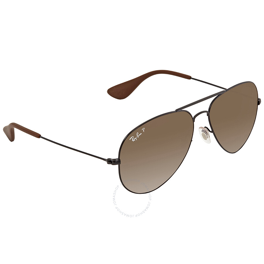 dc4e79d5a7 Ray Ban Brown Gradient Aviator Sunglasses RB3558 002 T5 58 - Aviator ...