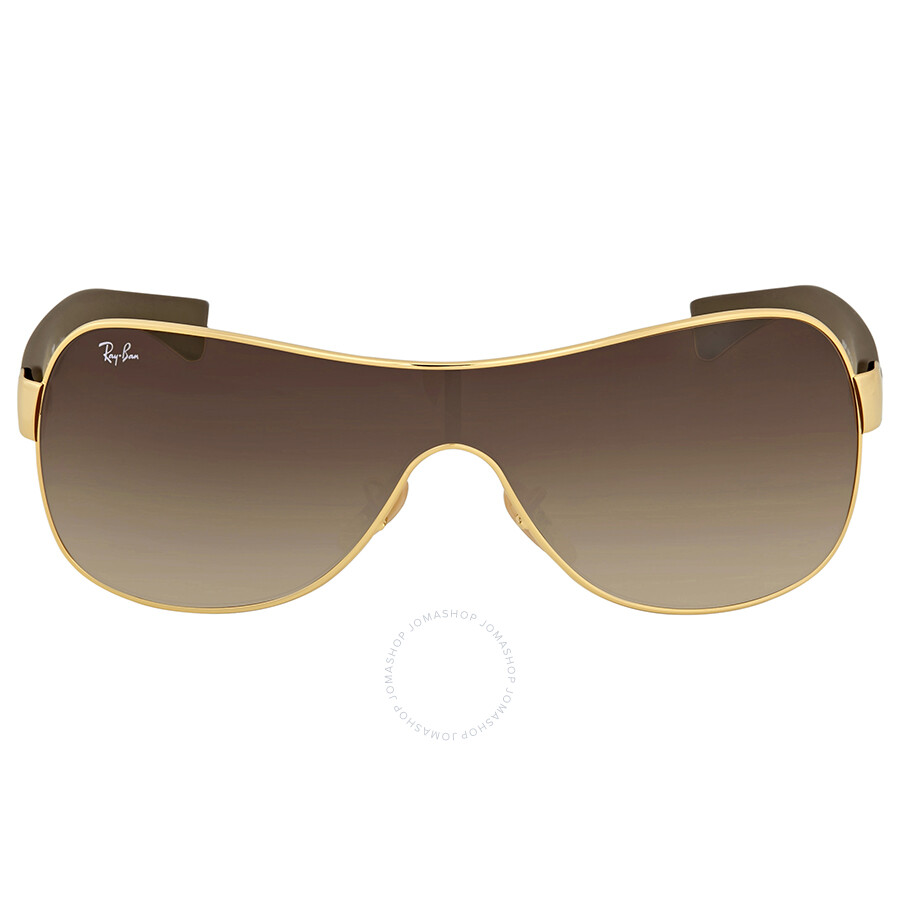 95a762dd15 Ray Ban Brown Gradient Rectangular Sunglasses - Ray-Ban - Sunglasses ...