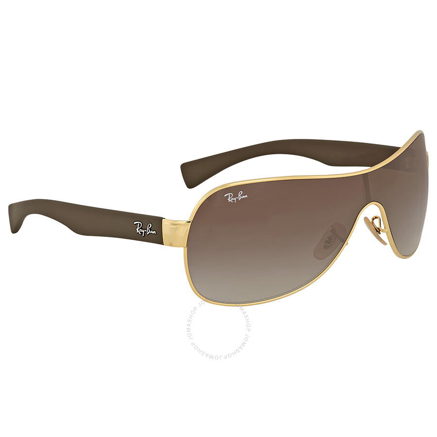bdca2cf094 Ray Ban Brown Gradient Rectangular Sunglasses Ray Ban Brown Gradient  Rectangular Sunglasses ...