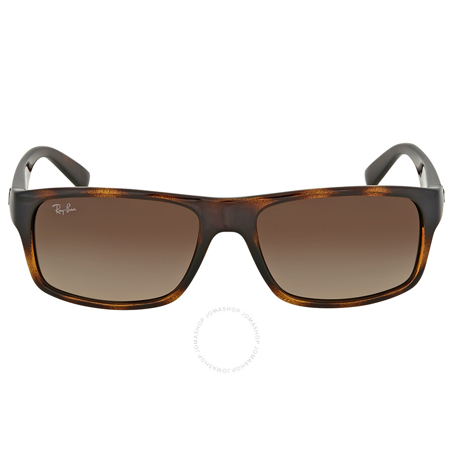 2bf53474f2 Ray Ban Ray-Ban Brown Gradient Rectangular Sunglasses Item No. RB4205I  710 13 56