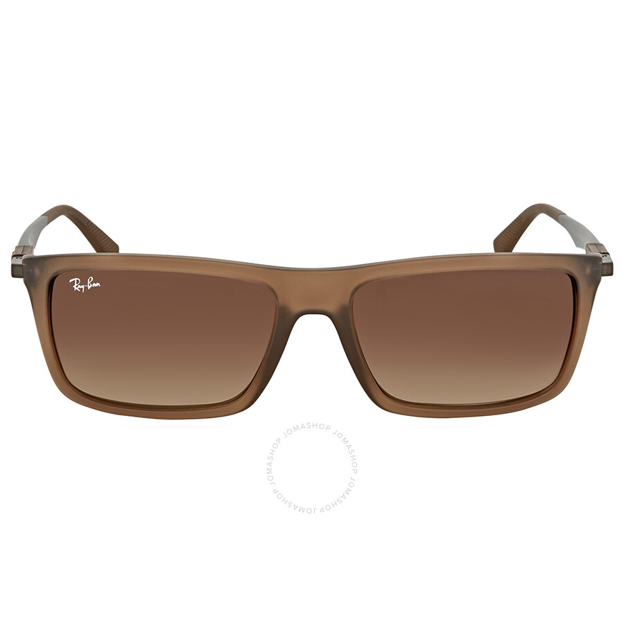 2c781e8e86f29 Ray Ban Brown Gradient Rectangular Sunglasses - Ray-Ban - Sunglasses ...