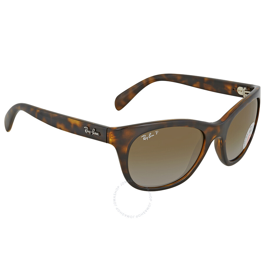 978cbb090c Ray Ban Brown Gradient Rectangular Sunglasses RB4216 710 T5 56 ...