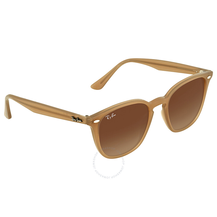27861476ad Ray Ban Brown Gradient Square Sunglasses RB4258 616613 50 - Square ...