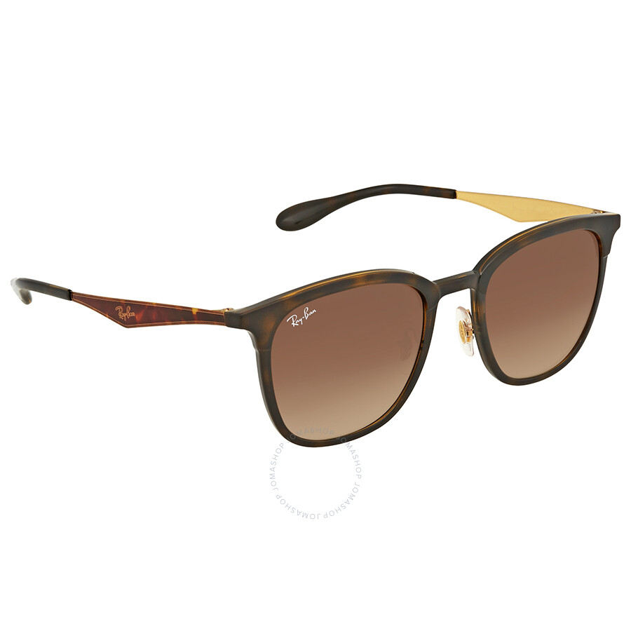 03f779b475892 Ray Ban Brown Gradient Square Sunglasses RB4278 628313 51 - Square ...