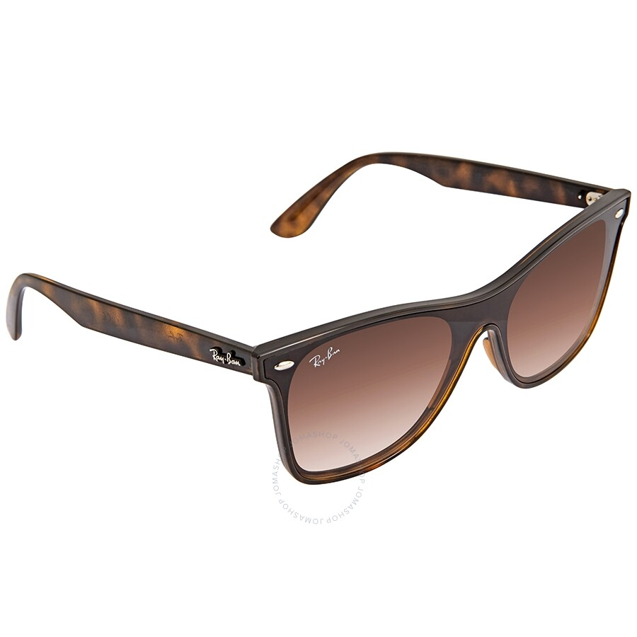 09a05018d6 Ray Ban Brown Gradient Square Sunglasses RB4440N 710 1341 - Square ...