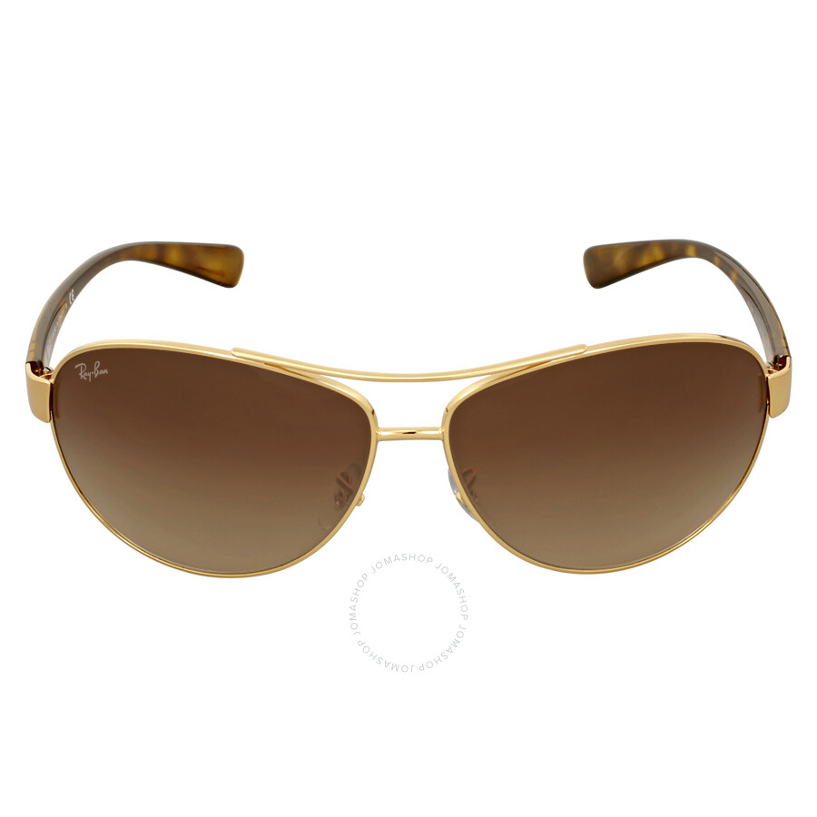 d4aefdfe3a Ray Ban Active Brown Gradient Sunglasses RB3386 001 13 67 - Aviator ...