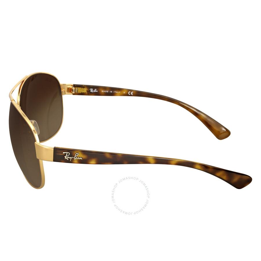 4eba403bc7 Ray Ban Active Brown Gradient Sunglasses RB3386 001 13 67 - Aviator ...