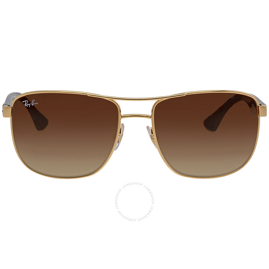 2e7da57f87 Ray Ban Brown Gradient Sunglasses RB3533 001 13 57 ...