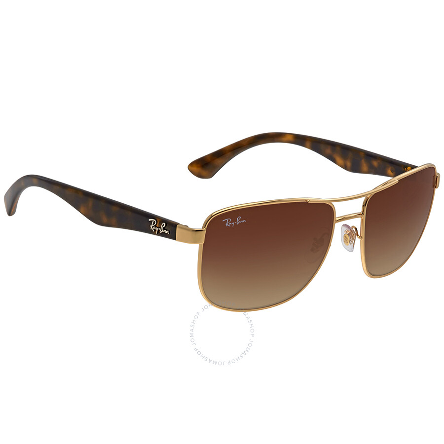 92a3a58066 Ray Ban Brown Gradient Sunglasses RB3533 001 13 57 - Ray-Ban ...
