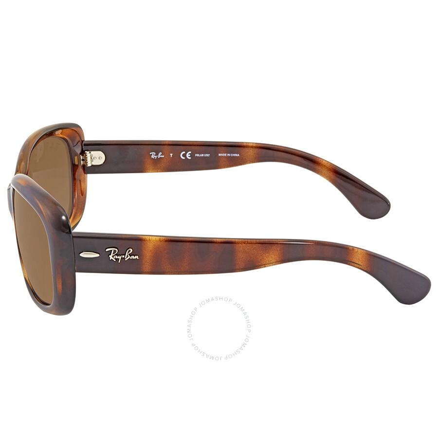 1148108355ca ... Ray Ban Brown-Grey Gradient Ladies Sunglasses RB4101F 710/T5 58