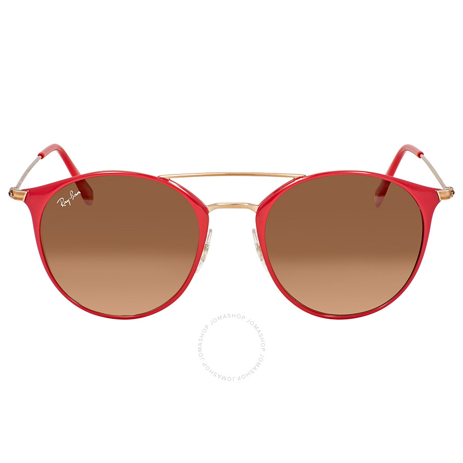 bf991cc701 Ray Ban Brown-Pink Gradient 52mm Sunglasses RB3546 907271 52 - Ray ...